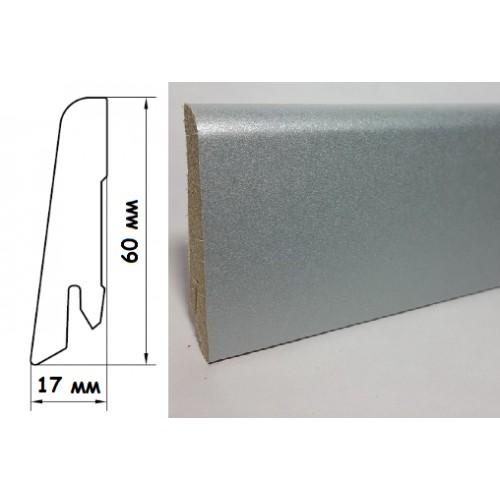 Плинтус Egger Дуб Кортина светло-серый L418 (EPL130)